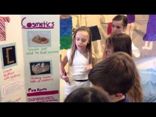 Project Based Learning: Fifth Grade Greek Fair