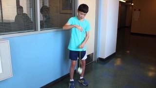 French American 8th Grader Uses Design Lab to Prototype Yo-Yo