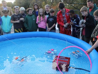 6th Graders Build SeaPerch Underwater Remotely Operated Vehicles