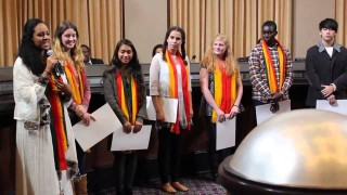 International High School students honored for service in Ethiopia