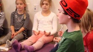 Mindfulness practice in partnership with parents