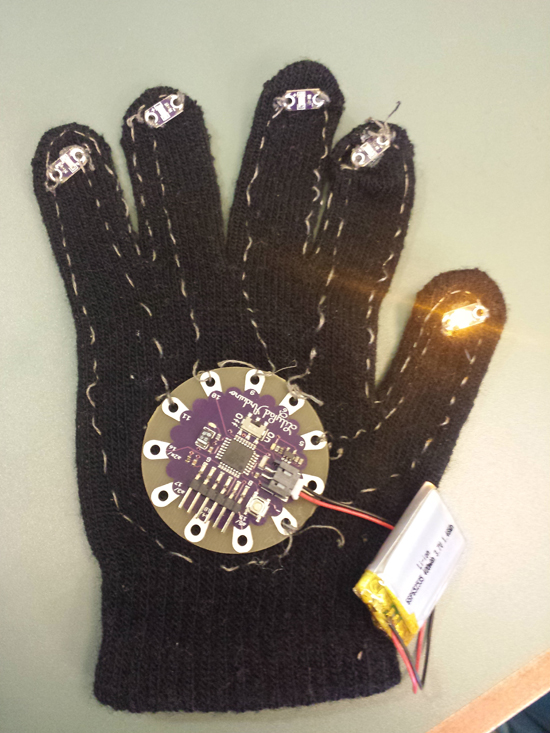 Steam Project Lets Middle School Girls Design Wearable