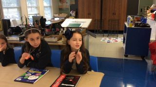 Lower School Students Show Respect for Art through Emojis